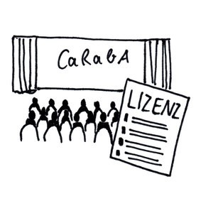 Lizenz für einmalige Vorführung CaRabA